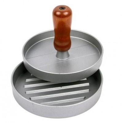 Пресс для гамбургеров - алюминиевый, диаметр 12 см