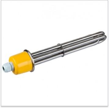 """ТЭН 3000W CLAMP Кламп 2"""" (220V, L=250 мм, нержавейка AISI 304)"""