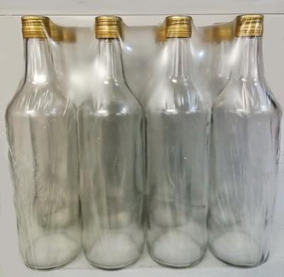 Набор бутылок винт. 1л (31,5) с ал. крышками (12шт. в наборе)