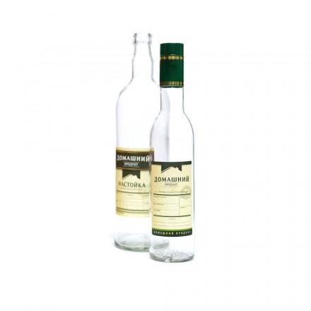 Этикетка Универсальная для крепких напитков, зеленый