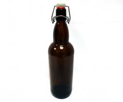 Бутылка бугельная пивная темное стекло 1л.