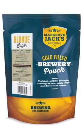 Солодовый экстракт Mangrove Jack's Traditional Series Blonde Lager Pouch 1,5 кг.