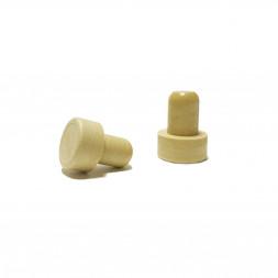 Мини-пробка Камю однокомпонентная 14,5 мм (беж)