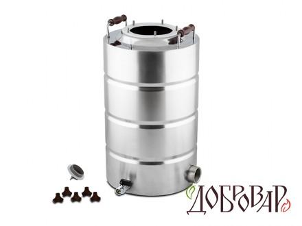 "Куб 23 л, ТЭН-Р-версия (1½""), 5 шпилек (без крышки)"