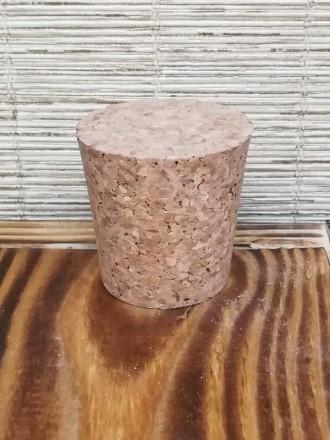 Пробка натуральная коническая 43х50 мм агломерированная