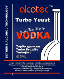 Дрожжи Alcotec Vodka Turbo с глюкоамилазой, 73 г