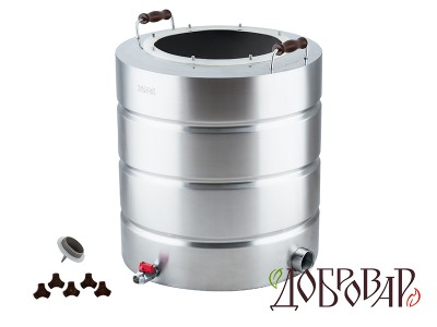 "Куб 51 л, ТЭН-Р-версия (1½""), 8 шпилек (без крышки)"