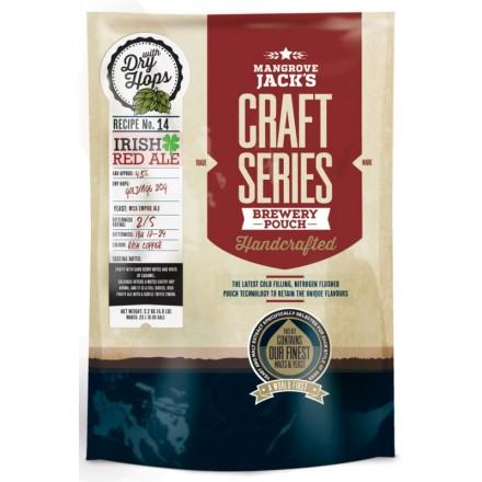 Солодовый экстракт Mangrove Jack's Craft Traditional Series Irish Red Ale 2,2 кг.