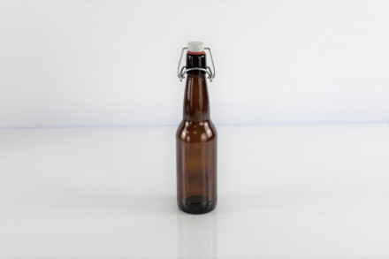 Бутылка под бугельную пробку, 0,33 л. (темная)