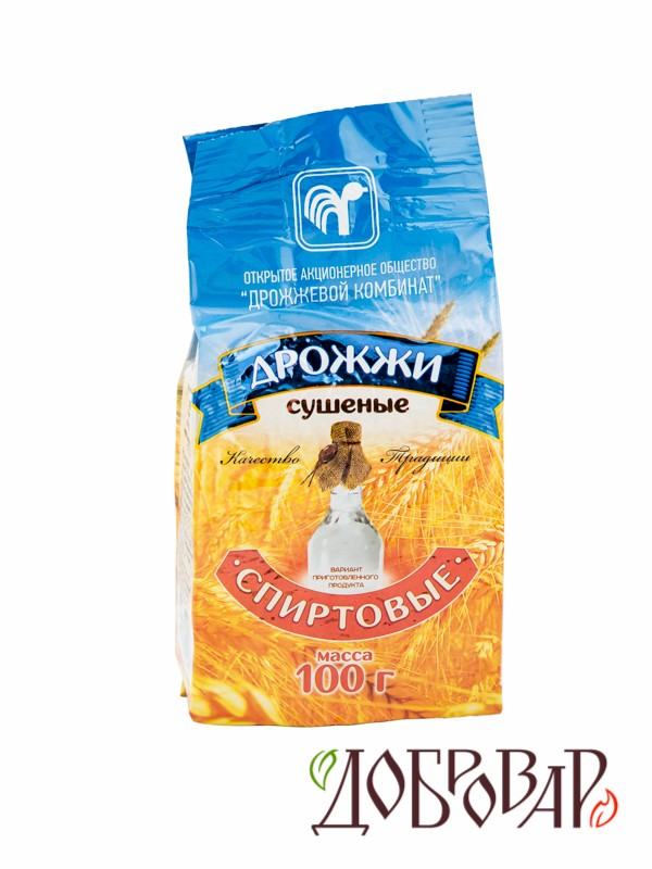 Дрожжи спиртовые 100 г (на 30 л) (Беларусь)