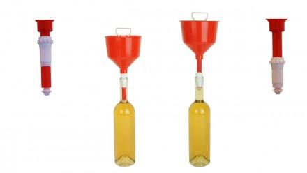 Воронка для розлива вина по бутылкам