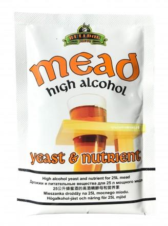 Сухие дрожжи для медовухи BullDog Mead, 28 г