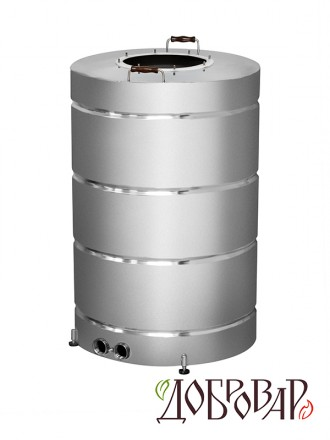 Куб 200 л, ТЭН-Р-версия (1 1/4''), 8 шпилек (без крышки)