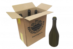 Бутылки шампанские Beervingem 0,75 л, 6 шт в картонной коробке