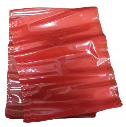 Пакет для созревания и хранения сыра термоусадочный 180х250 мм, цвет красный, прямоугольный  (Юнивак