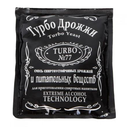 """Дрожжи """"Турбо №77"""", 120 гр"""