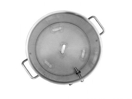 Сусловарочный котел 50,3 л. с фальшдном,краном и термометром