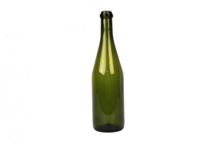 Бутылки шампанские, 0,75 л, 16 шт в картонной коробке