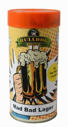 Солодовый Экстракт Bulldog Mad Bad Lager 1,75 кг