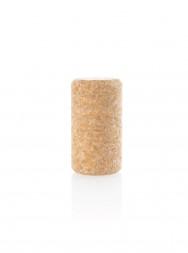 Пробка винная натуральная 38x24 мм микроагломерированная