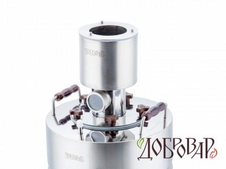 Барботер с диоптром для куба с горловиной 12 см (5 шпилек)