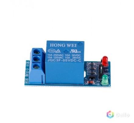 Реле модуль подключение к Arduino 10А 05VDC