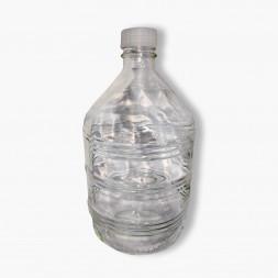 Бутыль под винтовую крышку, 10 л (прозрачная, Россия)