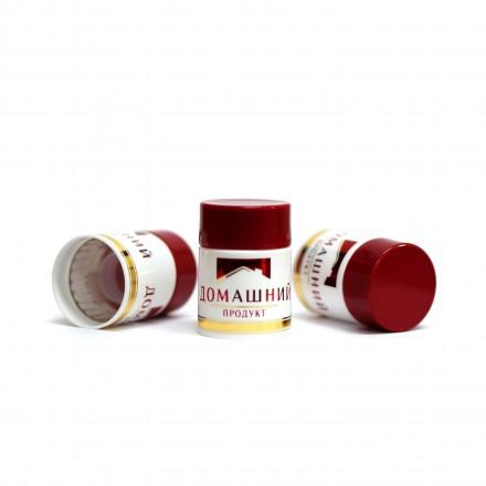 Полимерный колпачок Домашний продукт бордовый, 58 мм / 10 шт.
