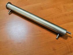 """Холодильник 35 см; литой носик; Clamp 1½"""" (штуцер 8 мм)"""