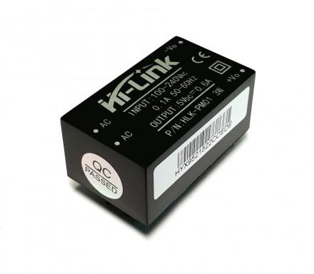 AC-DC преобразователь 220В - 5В Hi-link HLK-PM01