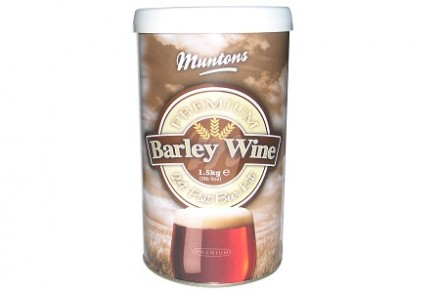 Солодовый экстракт Muntons Premium Barley Wine 1,5 кг., на 14 л пива.