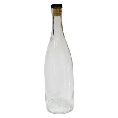 Бутылки водочные 0,5л с пробкой, 16 штук в картонной коробке