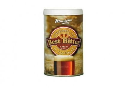 Солодовый экстракт Muntons Bitter, 1,5 кг, на 23 л пива.