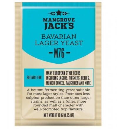 """Пивные дрожжи Mangrove Jack's """"Bavarian Lager M76"""", 10 г"""