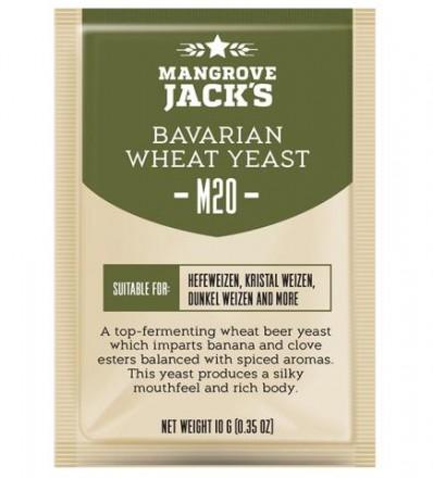 """Пивные дрожжи Mangrove Jack's """"Bavarian Wheat M20"""", 10 г"""