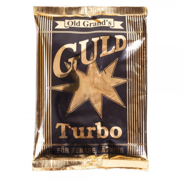 Дрожжи сухие активные OLD GRAND'S GULD TURBO 6 KG, 130гр