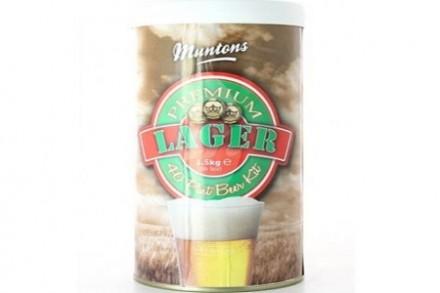 Солодовый экстракт Muntons Lager, 1,5 кг., на  23 л пива.