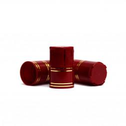 Пластиковый колпачок на бутылку винт 28*18 мм, 10 шт (бордовый) / 10 шт.