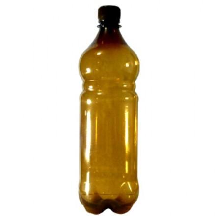 ПЭТ бутылка + крышка  1 литр