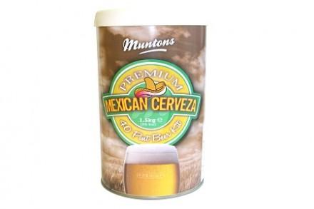 Солодовый экстракт Muntons Mexican Cerveza 1,5 кг., на 23 л пива.