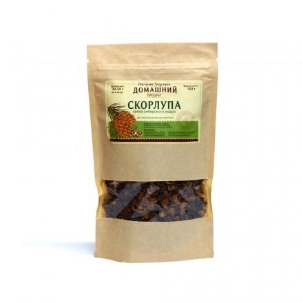Скорлупа кедрового ореха, 150 гр.