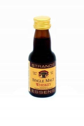 Эссенция Strands Exclusive Single Malt Whisky 25мл. (Односолодовый Виски) 25мл (Швеция)