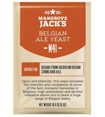 "Пивные дрожжи Mangrove Jack's ""Belgian Ale M41"", 10 г"
