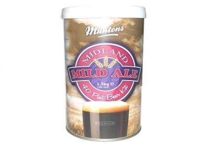 Солодовый экстракт Muntons Midland Mild Kit, 1,5 кг