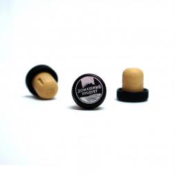 Пробка КАМЮ Домашний продукт, черный колпачок 19,5 мм