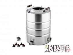 Куб 17 л, ТЭН-Р-версия (1 1/4''), 5 шпилек (без крышки)
