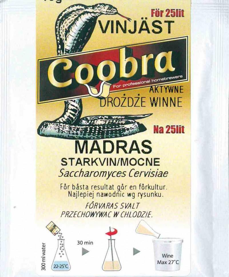 Дрожжи винные COOBRA JÄST MADEIRA (Мадера)