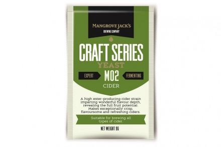 "Дрожжи для сидра Mangrove Jack's ""Cider M02"", 9 г"