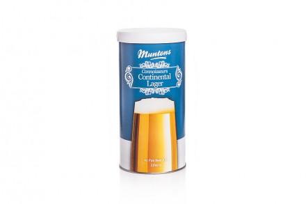 Солодовый экстракт Muntons Continental Lager, 1,8 кг., на 23 л пива.
