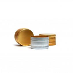Колпачок алюминиевый Винт 28*18 без резьбы (серебро)